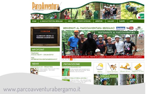 siti web PARCOAVVENTURA BEGAMO